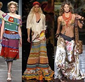 Gypsy Style Clothing