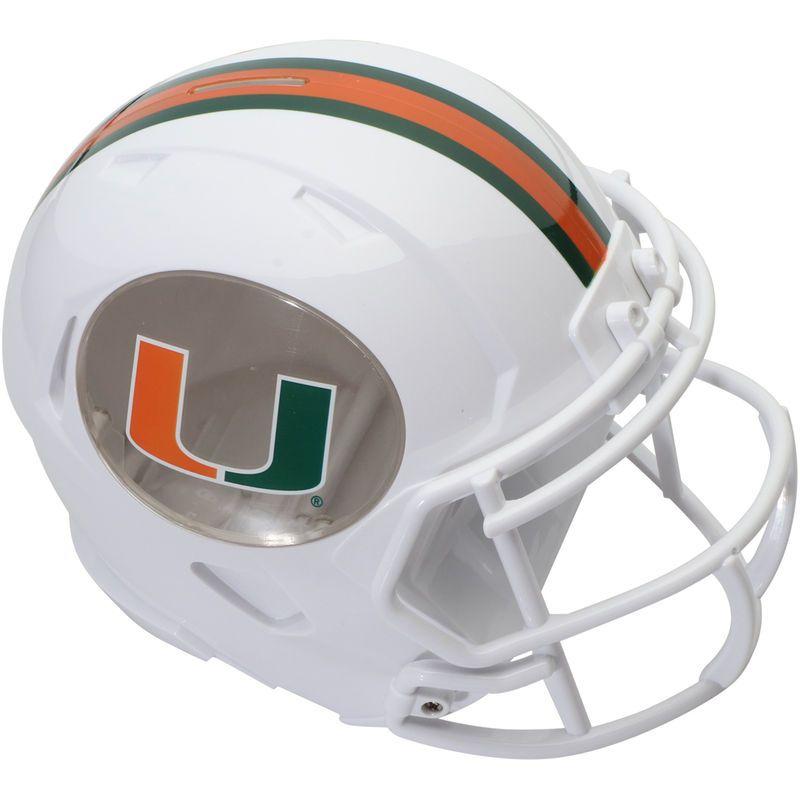 brand new 7c24e d2fe2 Miami Hurricanes Helmet Bank | Products | Football helmets ...