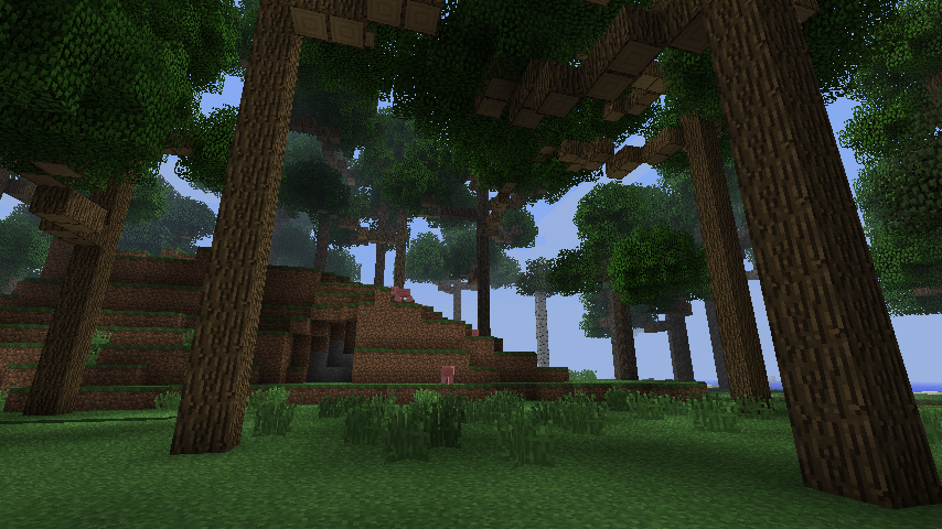 Big Trees Mod 1 5 2 Big Tree Minecraft Projects Minecraft Mods