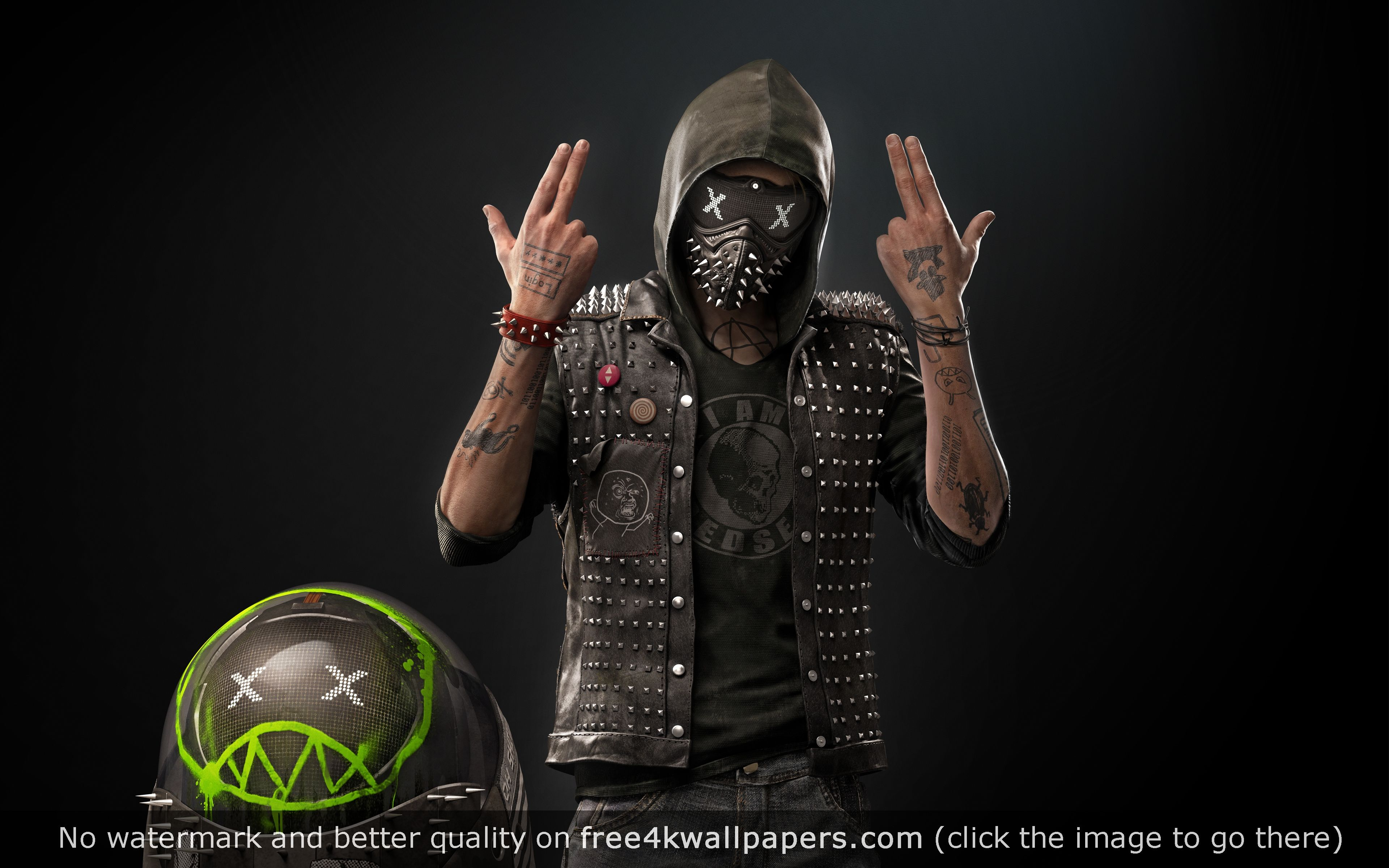 Wrench Junior Robot Watch Dogs 2 4k Wallpaper Watch Dogs Dog Wallpaper Watch Dogs 1