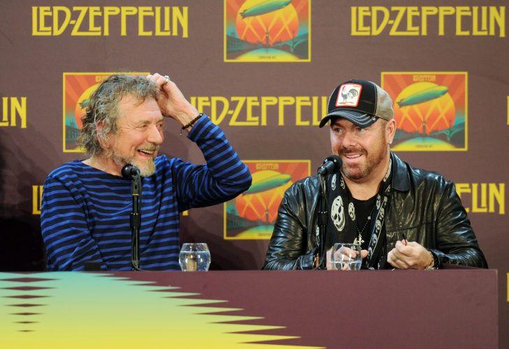 Led Zeppelin - Robert Plant & Jason Bonham
