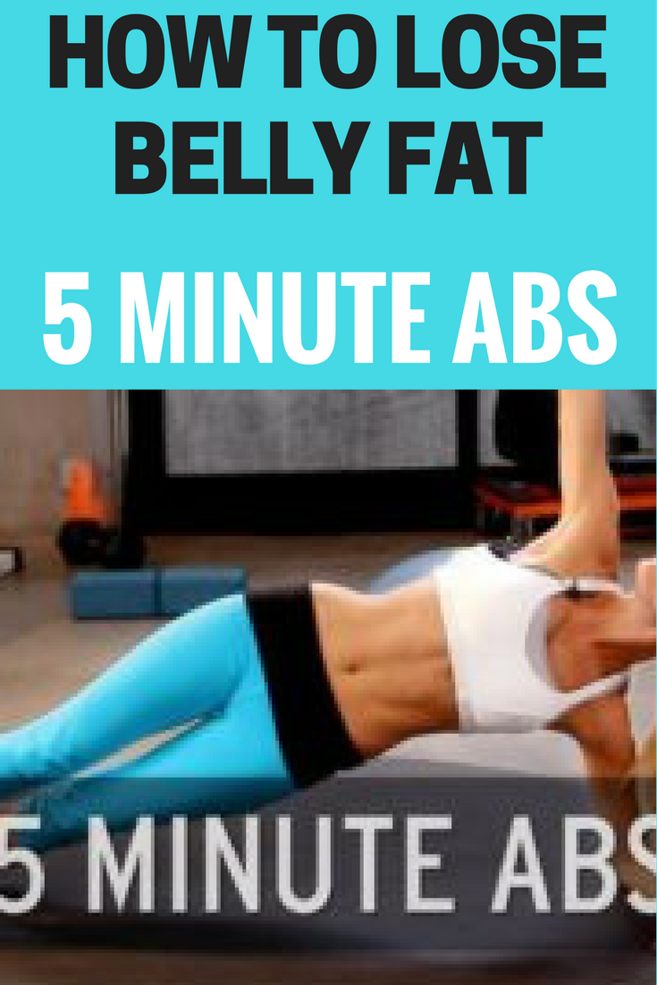 How to Lose Belly Fat: 5 Minute Abs - The Truth About Weight Loss