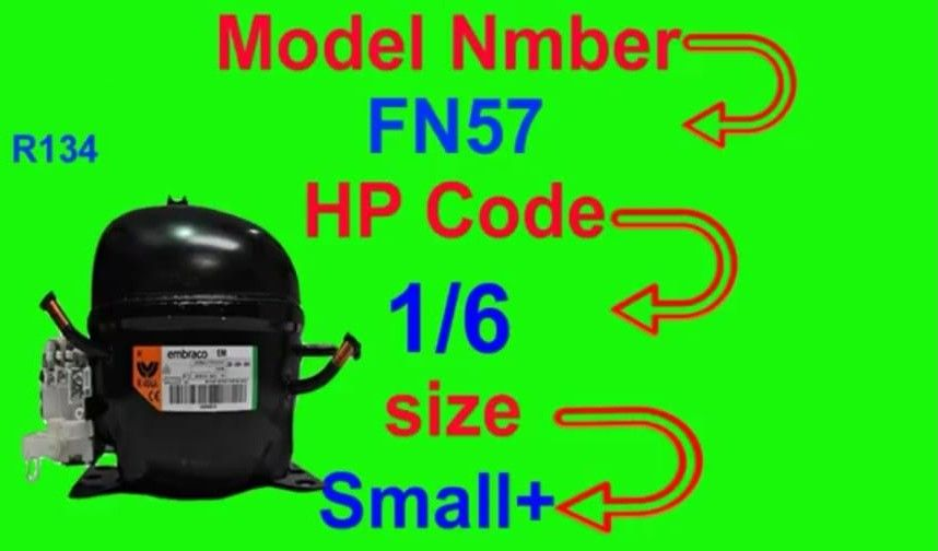 Refrigerator Hp Code Power Trace And Compressor Value Small Medium Large All National Compressor Fully4world Coding Air Conditioner Maintenance Compressor