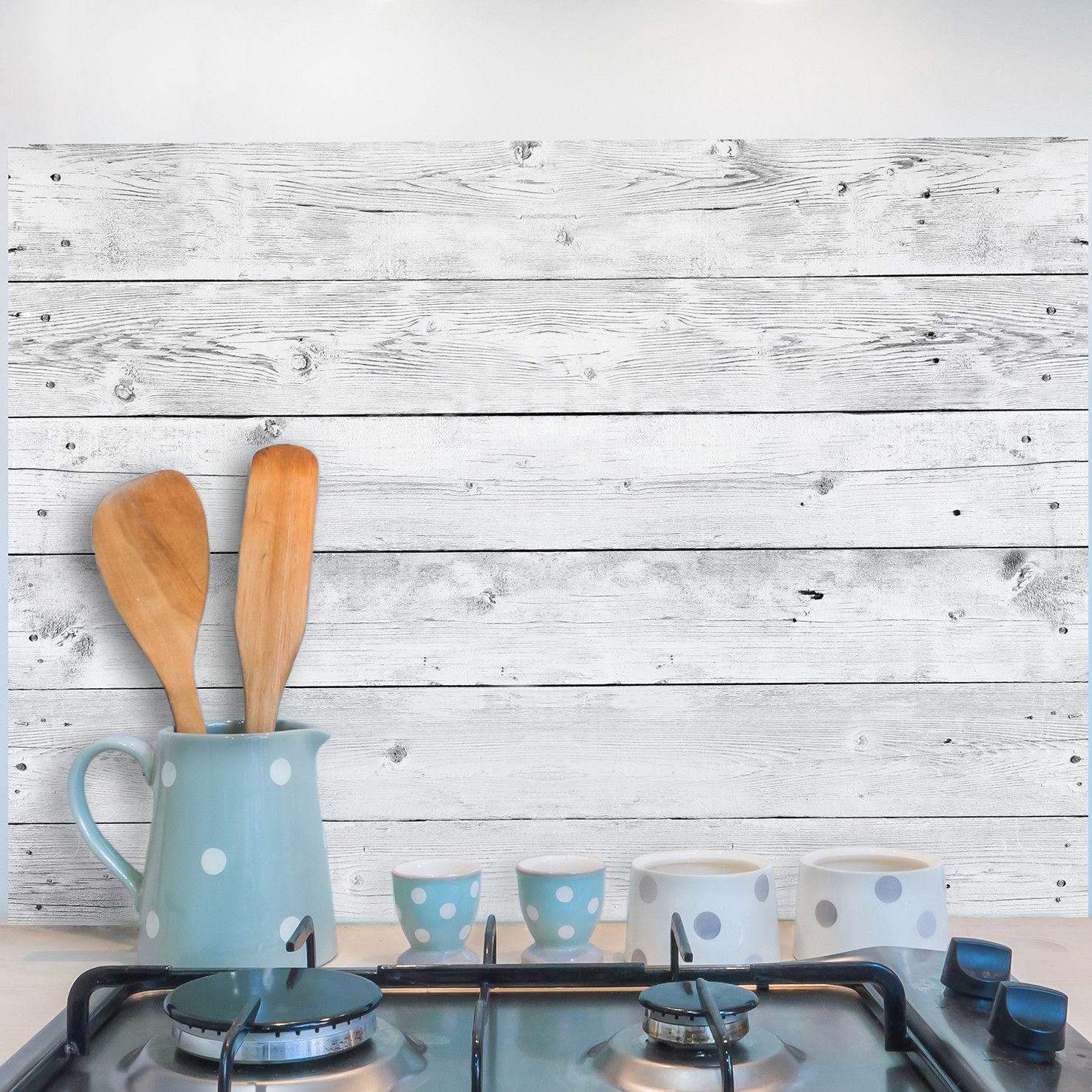 Wood Kitchen Wall Decal