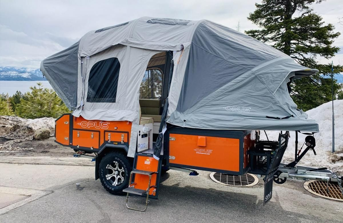 Camper Car With Super Large Expansion Space Tent Campers Best