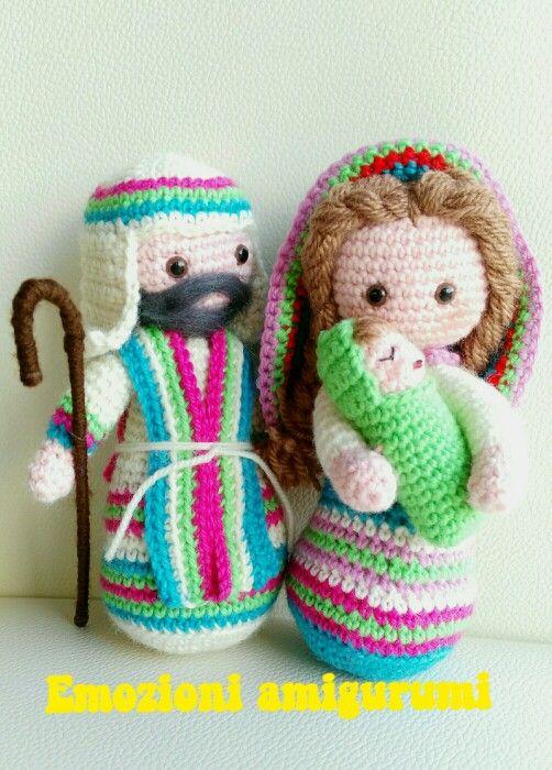 Nativity   Amigurumis   Pinterest   Pesebre, Manualidades navidad y ...