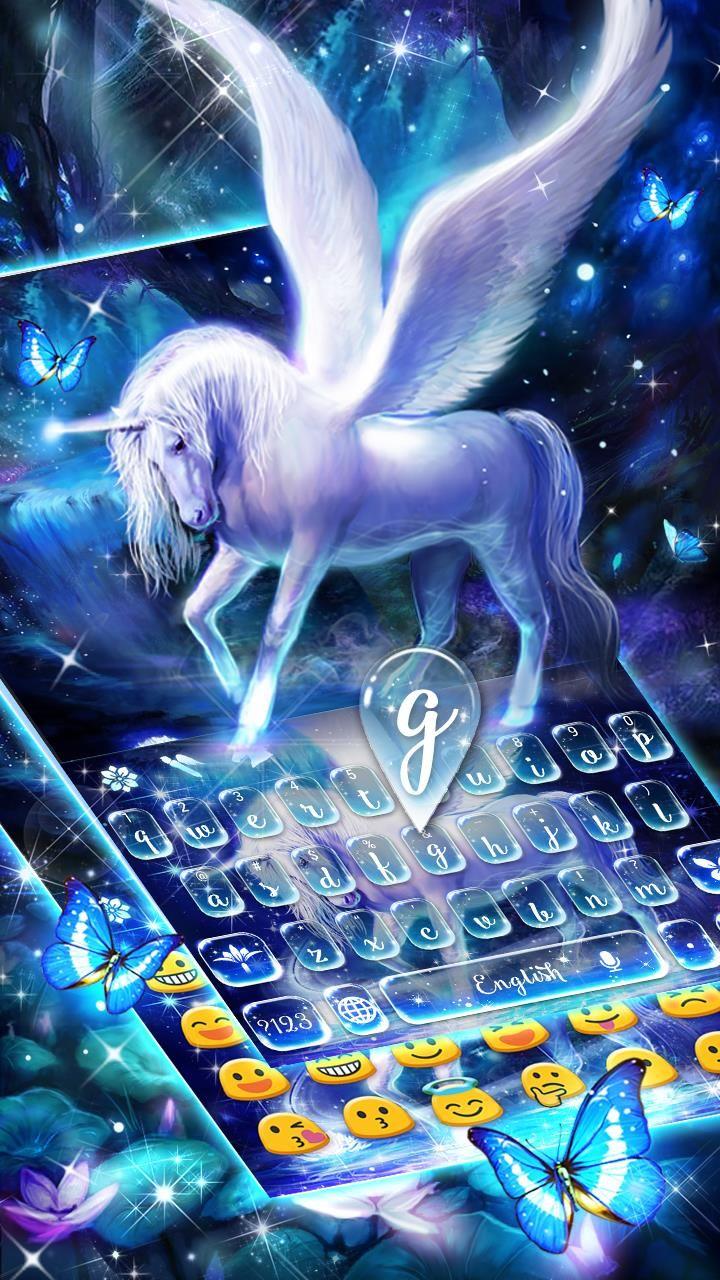 Graceful unicorn keyboard! Keyboard, App, Theme