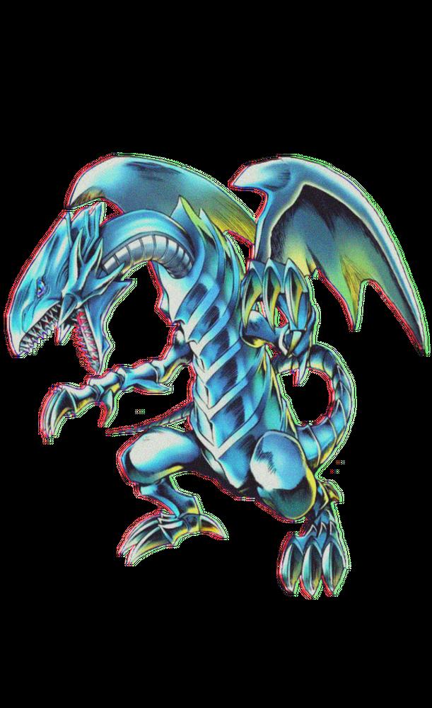 Blue Eyes White Dragon Yu Gi Oh Art Print By Halfdan X Small In 2020 White Dragon Dragon Hoodie Yugioh Monsters