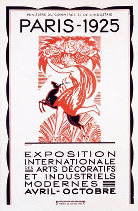 Paris 1925 Exhibition, by Robert Bonfils - really need this print!