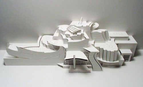 Paper Architecture Models Book Art