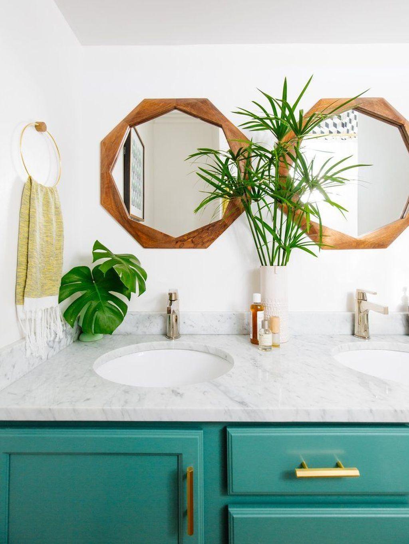 30+ Cute Emerald Green Bathroom Tile Designs Ideas | Bathroom Design ...