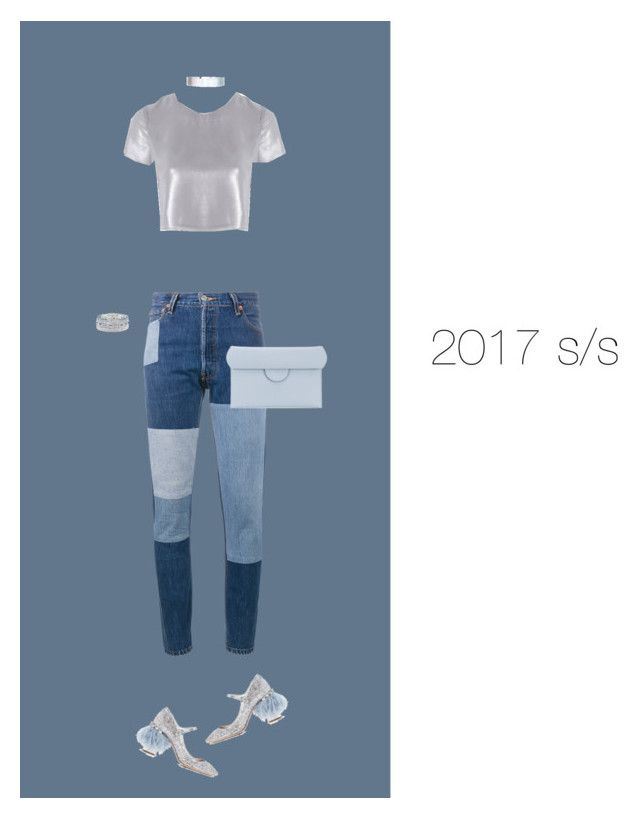 """""""2017 s/s"""" by krisz-kn ❤ liked on Polyvore featuring RE/DONE, Related, Miu Miu, Accessorize, Sole Society and Roksanda"""