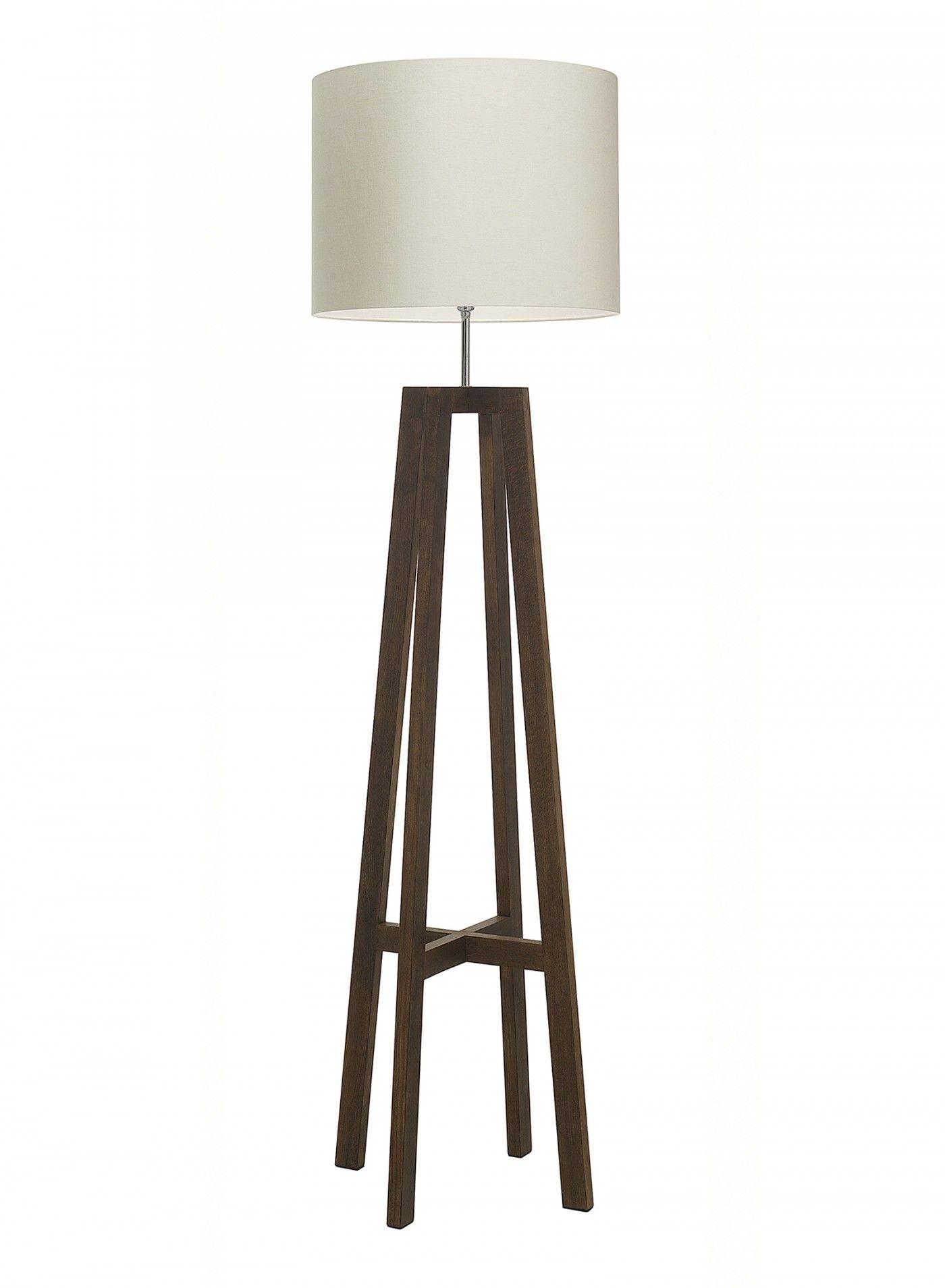 Tripod antique oak floor lamp heathfield co light floor tripod antique oak floor lamp heathfield co geotapseo Choice Image