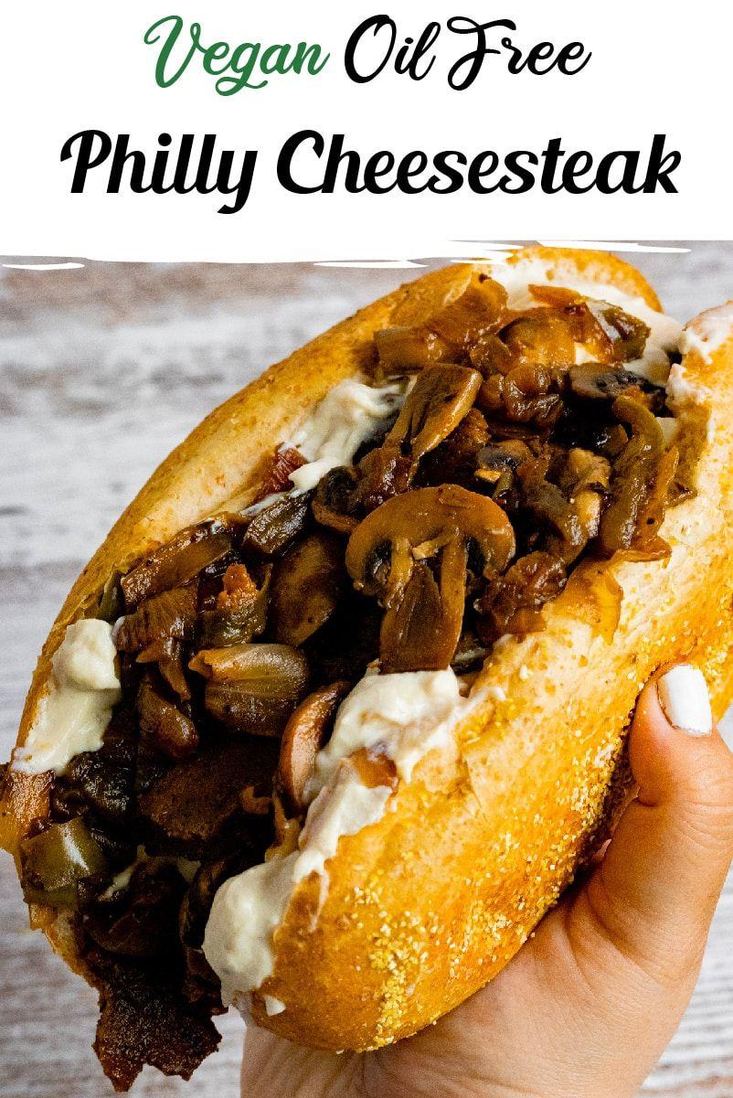 Vegan Philly Cheesesteak