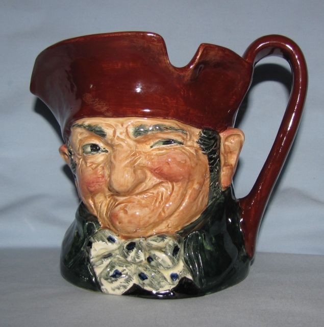 Image detail for -D5420 Royal Doulton character jug Old Charley - Large Character Jugs ...