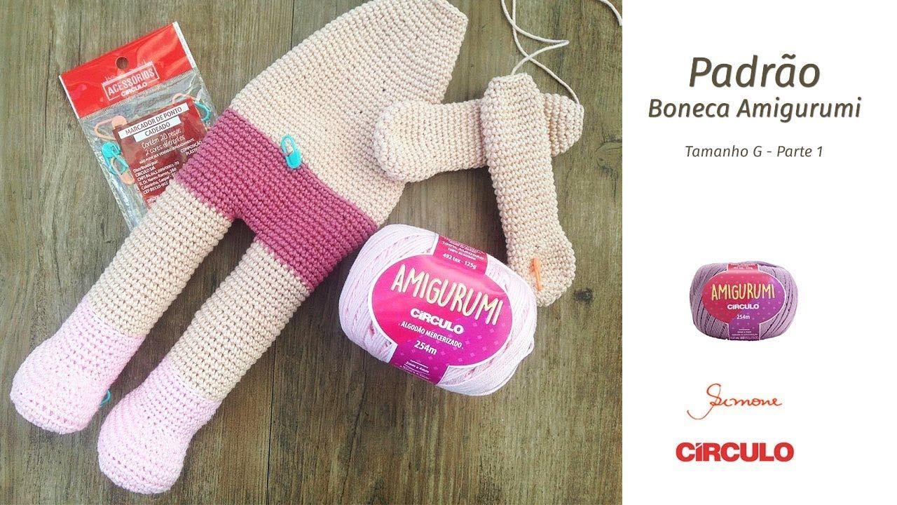 Amigurumi Boneca Grande (50 cm de altura) no Elo7 | Silvia Crochet ... | 720x1280