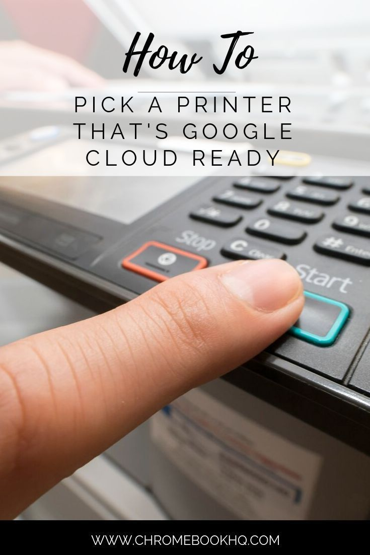 How to Pick a Printer That's Google Cloud Ready Printer