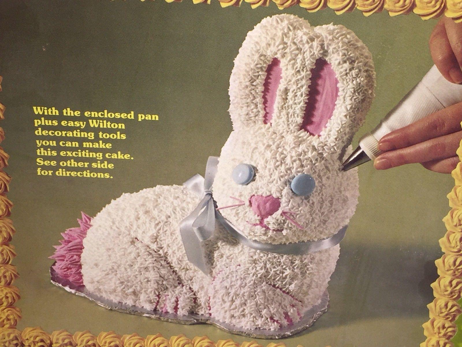bunny cake pan wilton