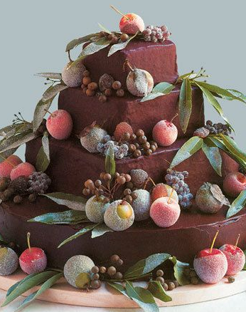 cake martha stewart weddings