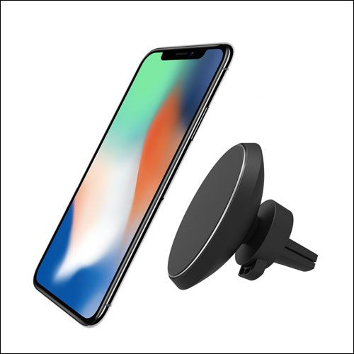 Neotrix Magnetic Qi Wireless Car Charger Mount For Iphone Iphone X