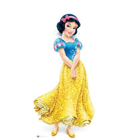 Snow White Life Size Cardboard Cutout Party City Principesse