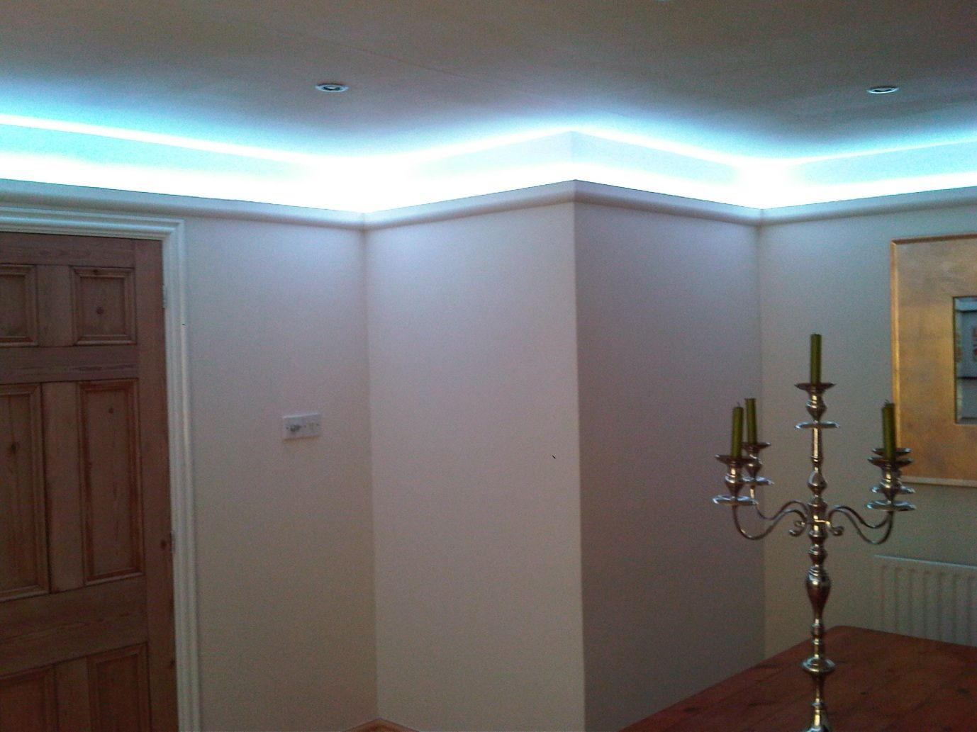 Led Rope Lighting Living Room Instyle Led Lighting Ideas Of Where To Use The Led Tape In Your