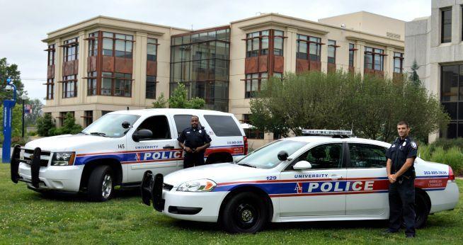 Public Safety American University Washington Dc Police Police Decal University