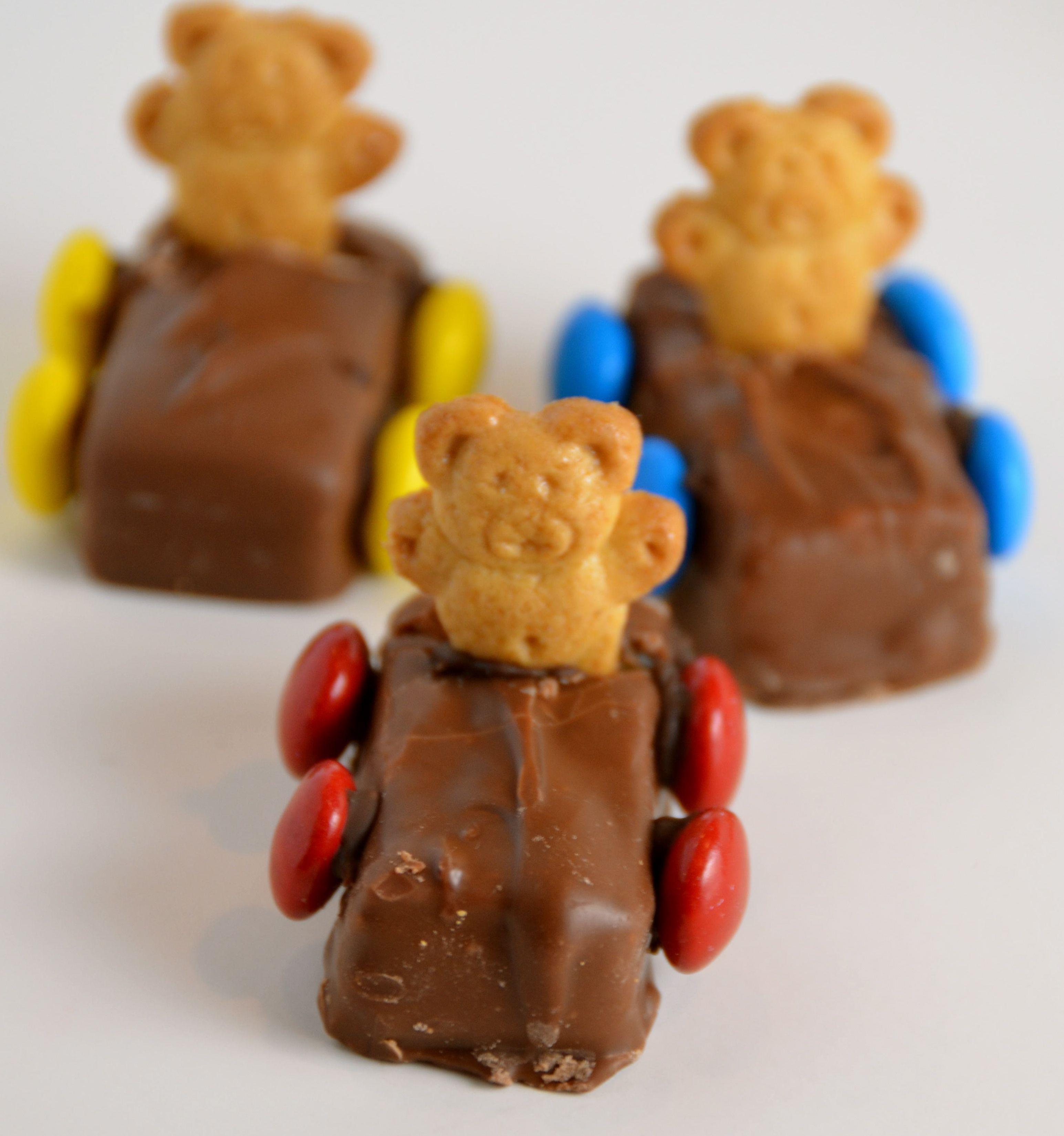 Teddy Bear Race Cars In