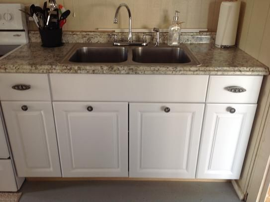 Hampton Bay 8 Ft Laminate Countertop In Typhoon Ice With Valencia