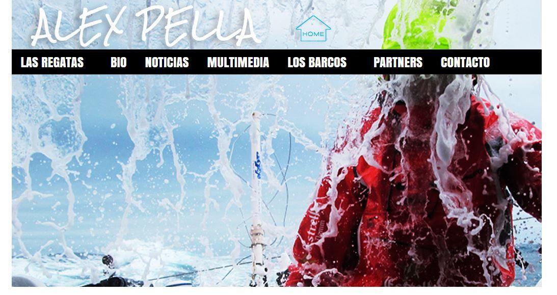 Hemos hecho un proyecto de web y redes sociales para Alex Pella: web, diseño de imagen corporativa. Visita nuestra: www.alexpella.es