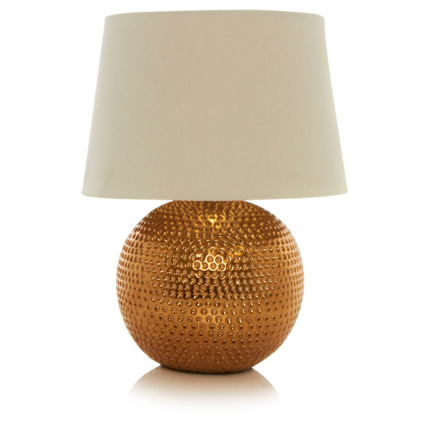 George Home Textured Copper Lamp