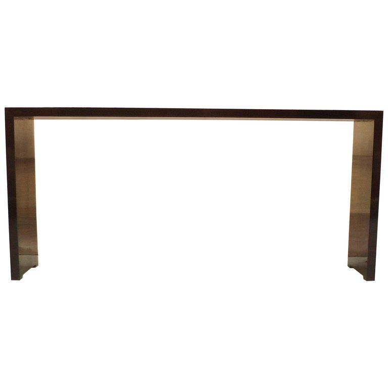 Black Lacquer Sofa Table Bed Springs Fine Console Tables Consoles And