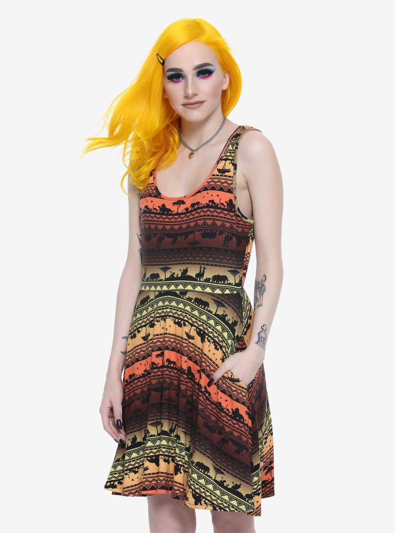 Disney The Lion King Sunset Dress Plus Size  4f73b1161