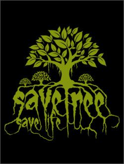 POSTER ON SAVE TREES