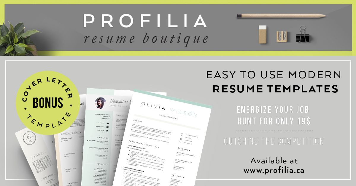 Update your resume with fresh & modern resumetemplates