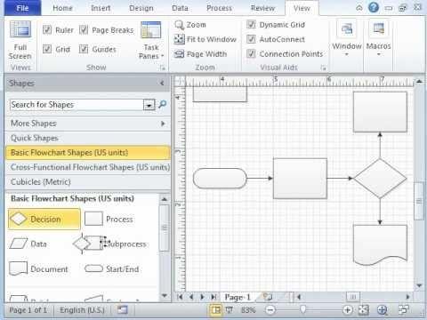 ▷ Microsoft Visio Tutorial - Video 1 of 3 Introduction
