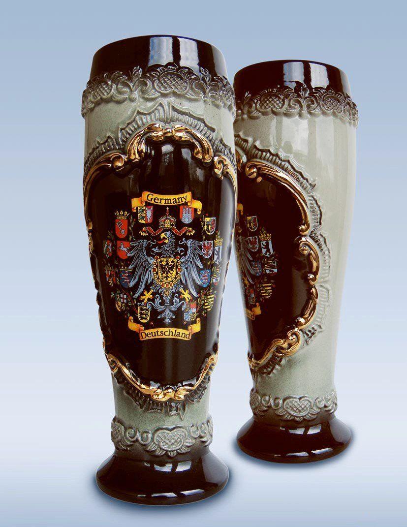 Jarra De Cerveza Alemana En Forma De Vaso Tradicional Alemana
