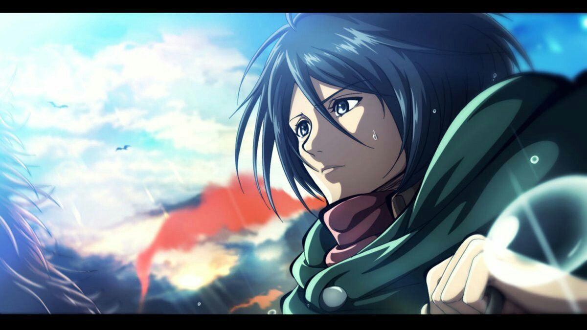 Mikasa Ackerman Attack On Titan Attack On Titan Anime Attack On Titan Season Mikasa