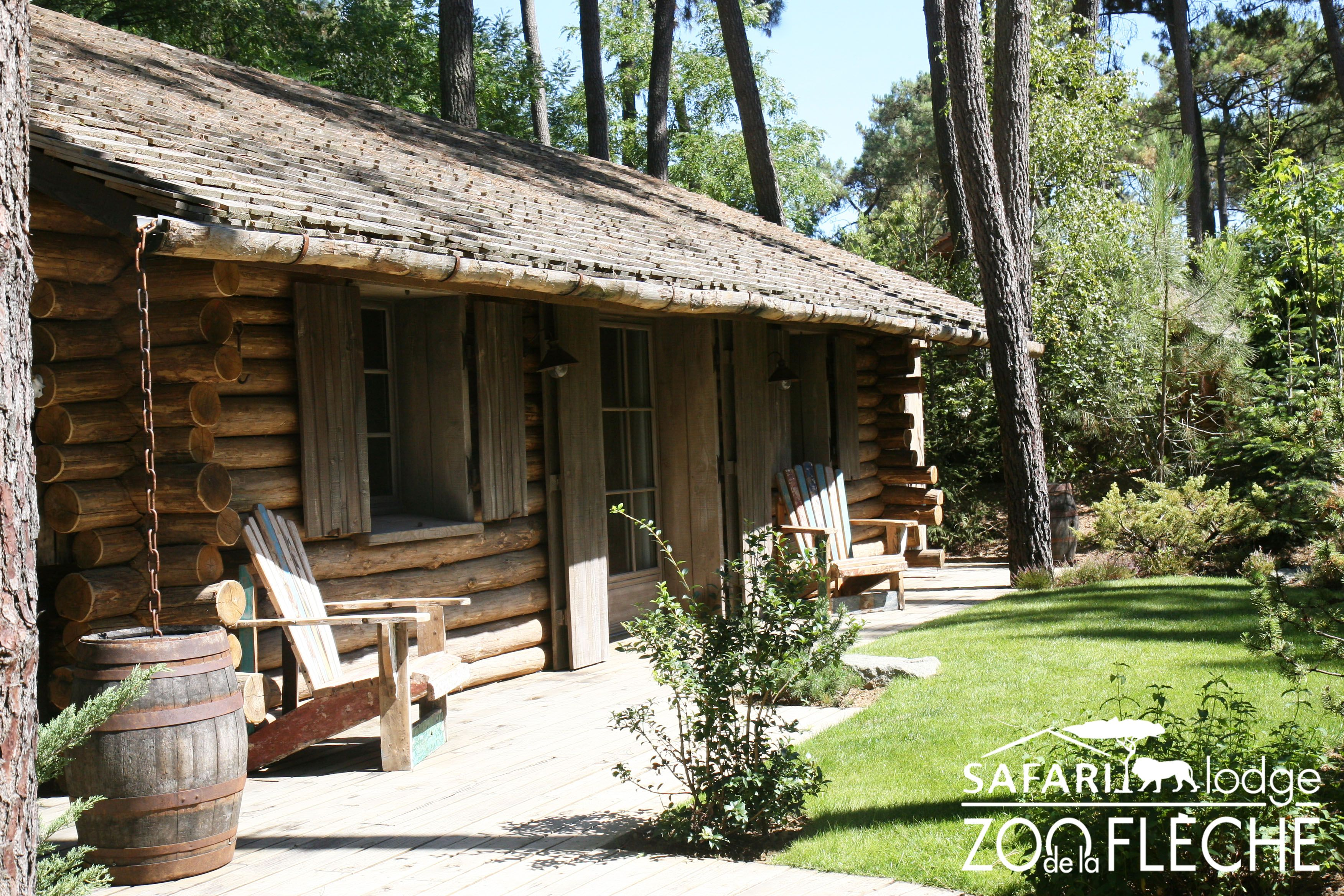 Alaska Lodge Véritable cabane de trappeur Alaska Lodge
