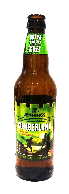 Jennings Cumberlan Ale Cerveza Inglesa Tipo Ale De Color Dorado Y