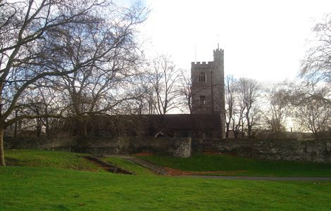 Barking Abbey. This was the view from my primary school classroom windows