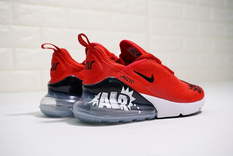 c3e9cc968faa Cheap Latest Nike Air Max 270 BQ0742 995 Mens Sneakers Moves You Red 2018  Spring Summer Sale
