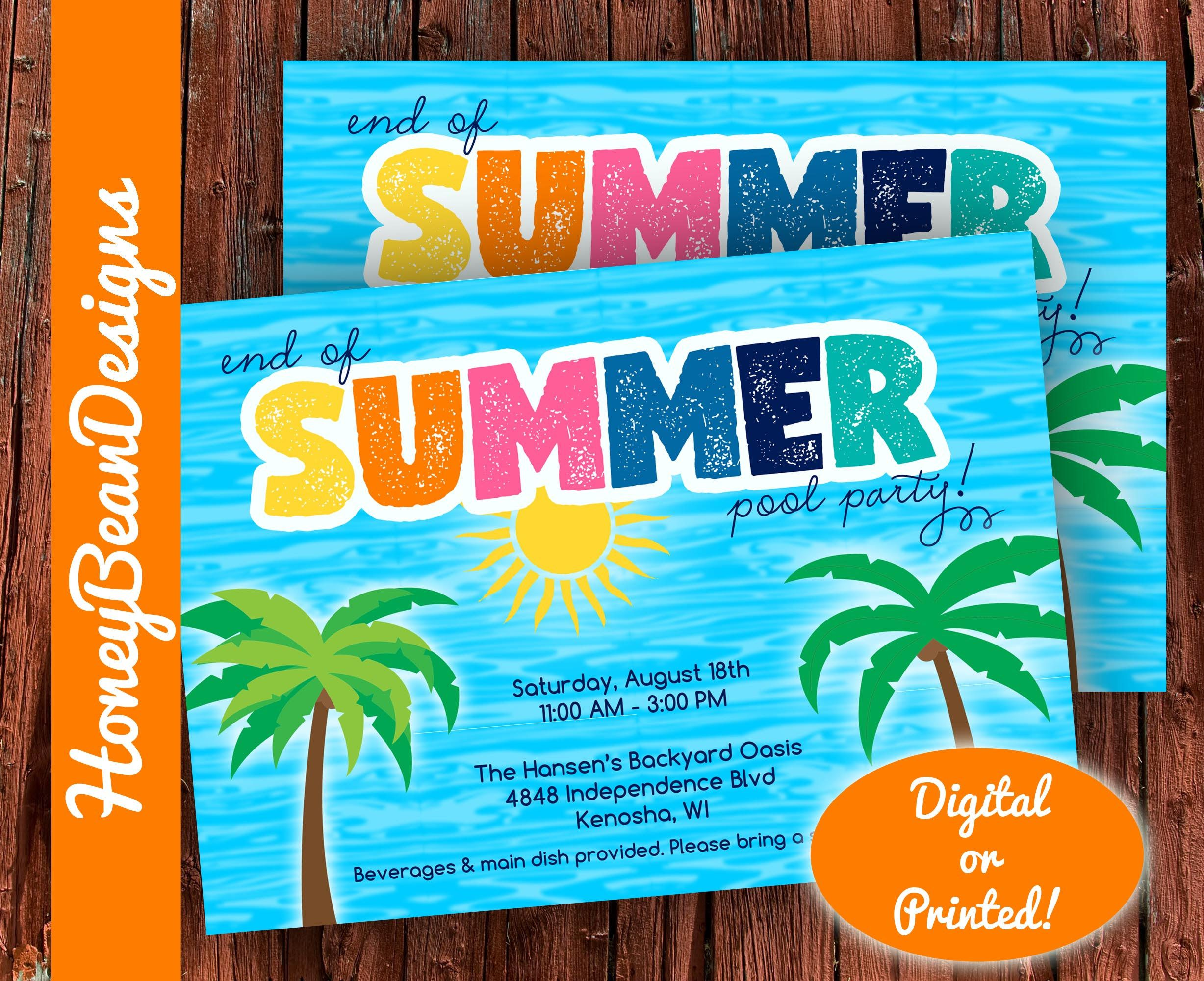 Pin By Michelle Payne On Printables Summer Pool Party Pool Party Summer Pool