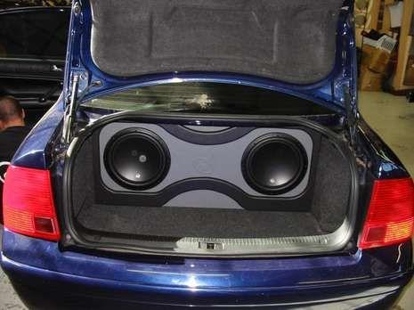 2000 Volkswagen New Passat Car audio, Car audio systems