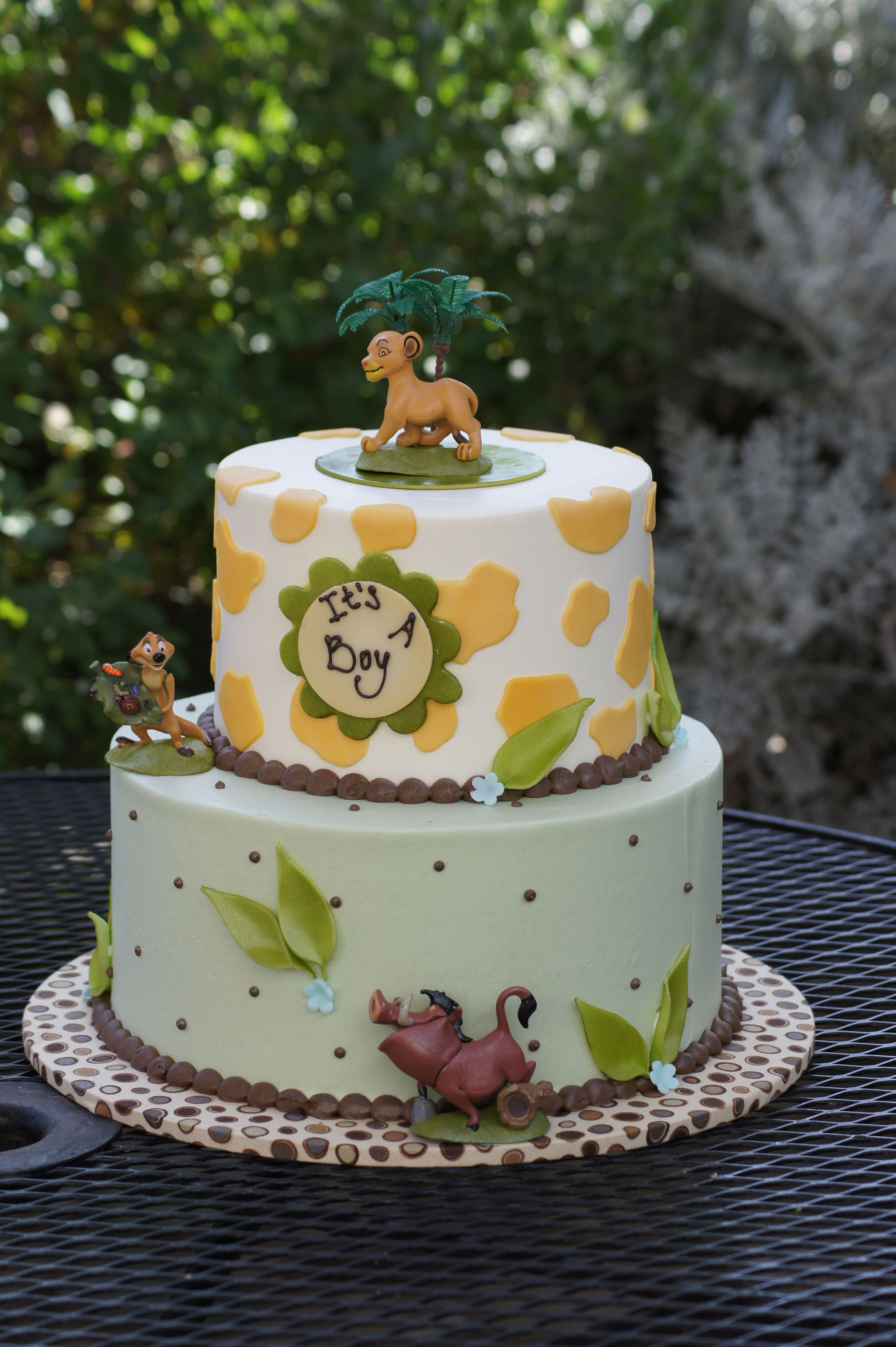 Lion King Baby Shower Cake Decorations  from i.pinimg.com