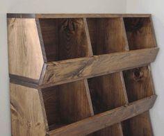 Photo of Storage Bins Woodworking Plans