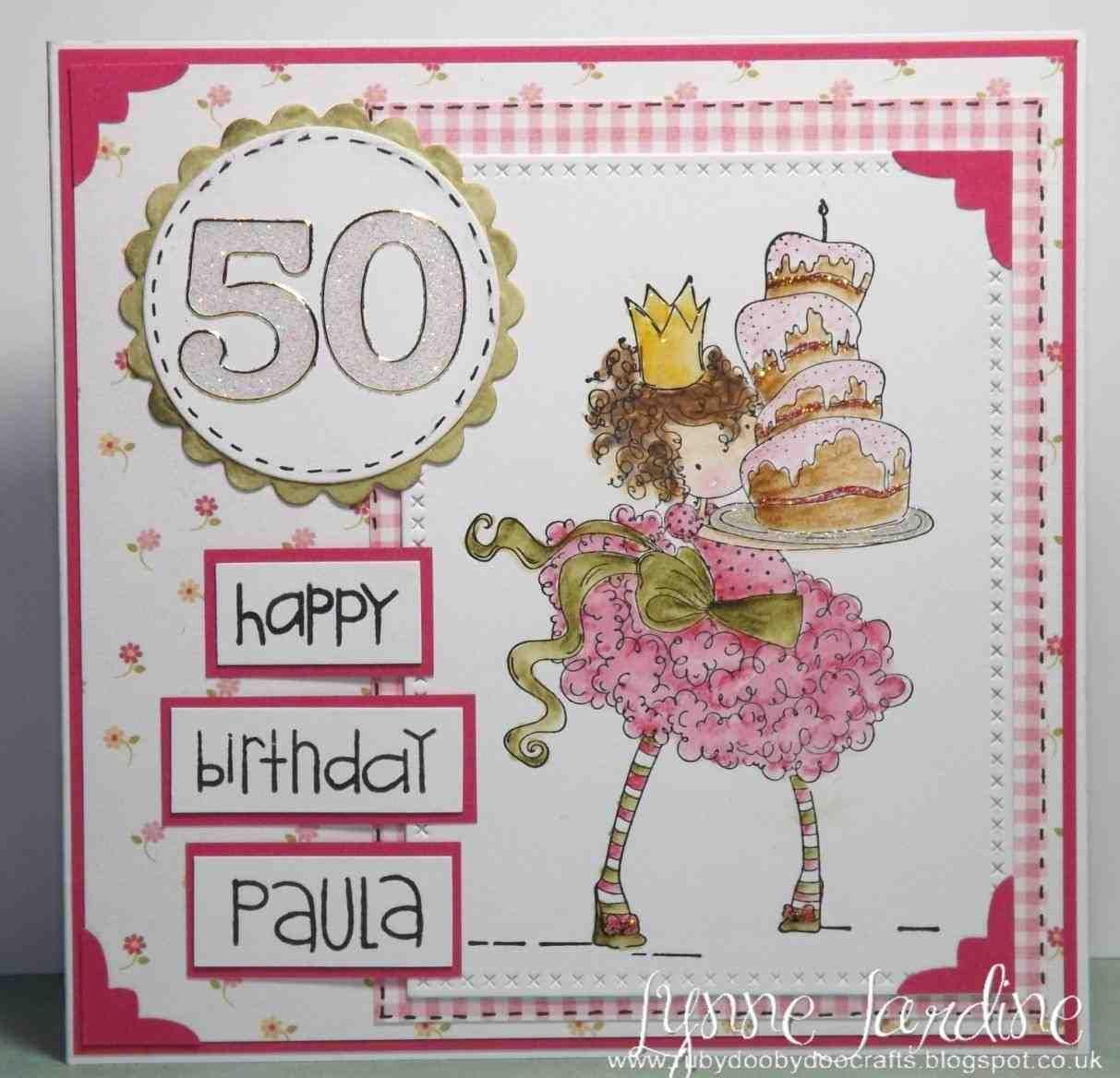50th Birthday Cards 50th Birthday Card Libjj Ctd190 50th