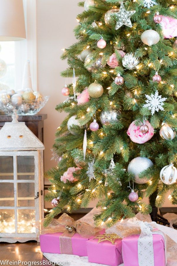 Pink Christmas Tree Decor Pink Is The New Red This Season Pink Christmas Tree Pink Christmas Pink Christmas Tree Decorations