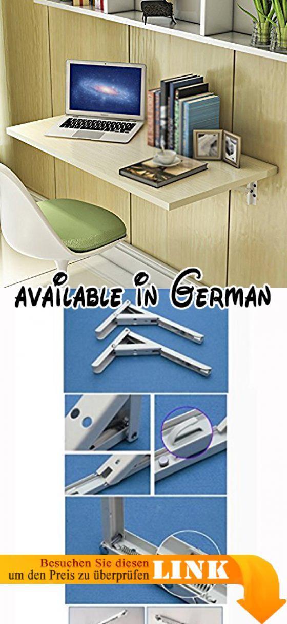 B075CX79PW : HWF Wandtisch Wandklapptisch Computer Schreibtisch Wand ...