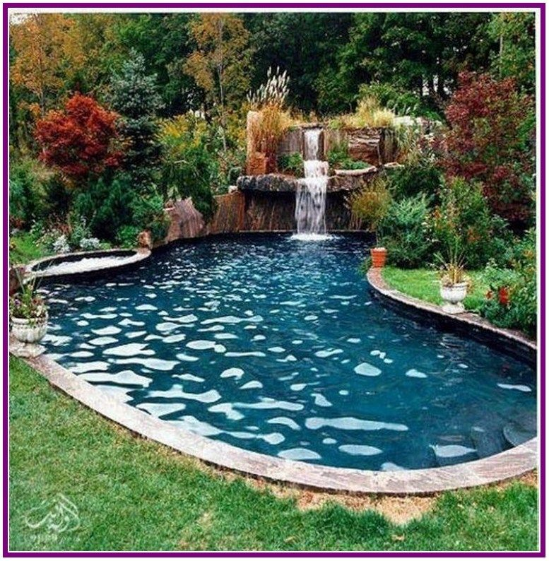 28 Best Small Inground Pool Ideas In 2019 00004 Pool Landscaping Backyard Pool Backyard